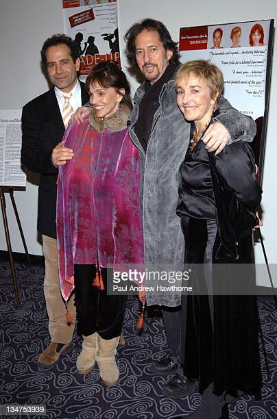 Tony Shalhoub Brooke Adams and Lynne Adams during MadeUp Premiere New York at Angelika Film Centre in New York City New York United States