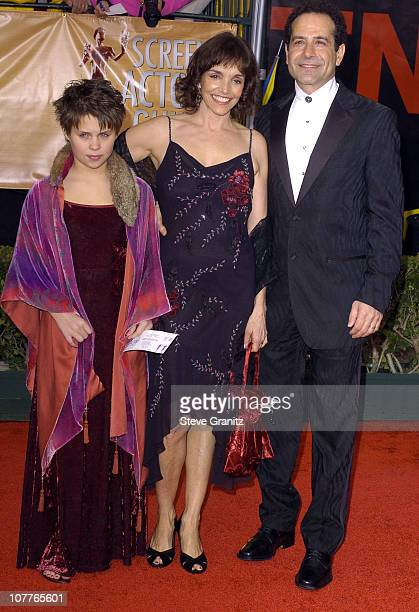 Tony Shalhoub Brooke Adams and their daughter Sophie