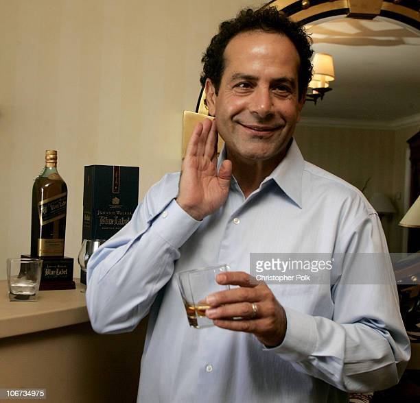 Tony Shalhoub during The 2004 Johnnie Walker Blue Gentlemen's Suite at The Four Season Hotel in Beverly Hills California United States