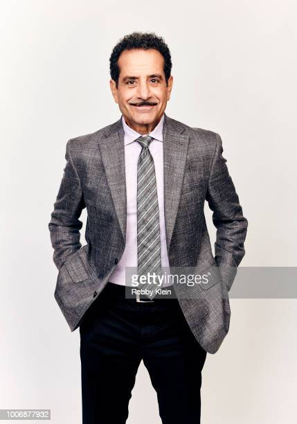 Tony Shalhoub of Amazon's 'The Marvelous Mrs. Maisel' poses for a portrait during the 2018 Summer Television Critics Association Press Tour at The...