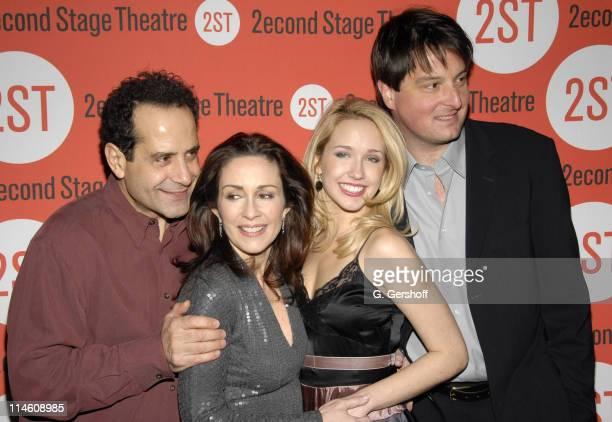 Tony Shalhoub Patricia Heaton Anna Camp and Christopher Evan Welch cast of 'The Scene'