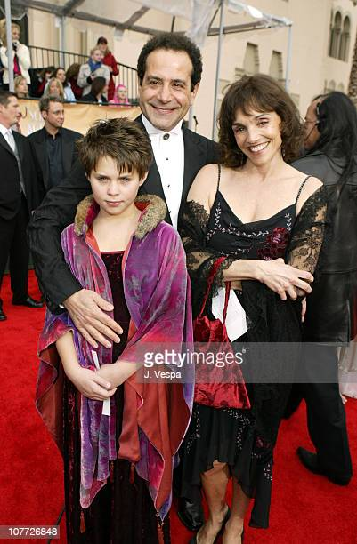 Tony Shalhoub with wife Brooke Adams and daughter Sophie