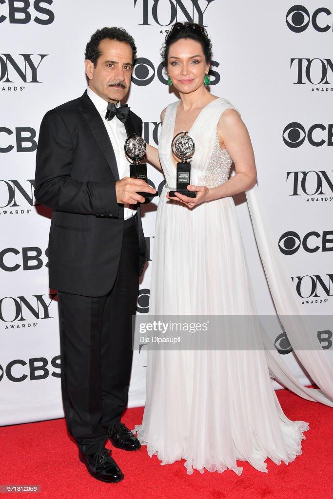 2018 Tony Awards - Media Room : News Photo