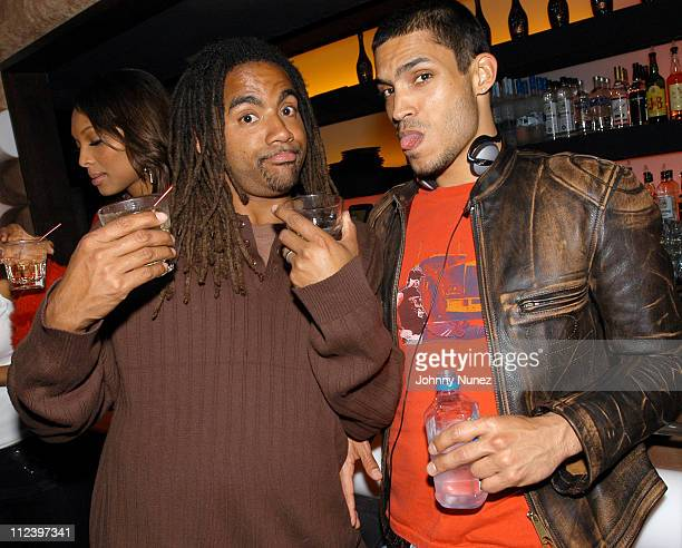 Tony Shellman of ENYCE and Will Lemay during Vibe Magazine 10th Anniversary Fashion Party at Cielo in New York City, New York, United States.
