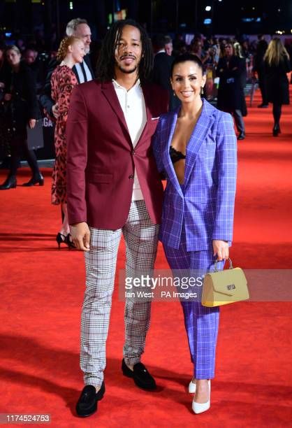 Tony Sinclair and Shanie Ryan attending the European premiere of Knives Out held as part of the BFI London Film Festival 2019 at the Odeon Luxe...