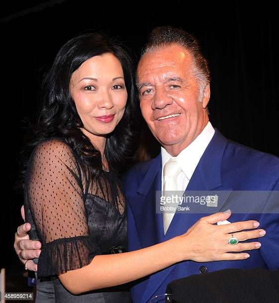 Tony Sirico and Deborah Gandolfini attends The 7th Annual New Jersey Hall Of Fame Induction Ceremony on November 13 2014 in Asbury Park United States
