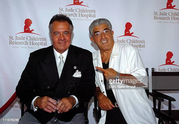 Tony Sirico and Frank Vincent during Tony Sirico and The Sopranos Celebrate St Jude Children's Research Hospital July 30 2005 at Private Residence in...