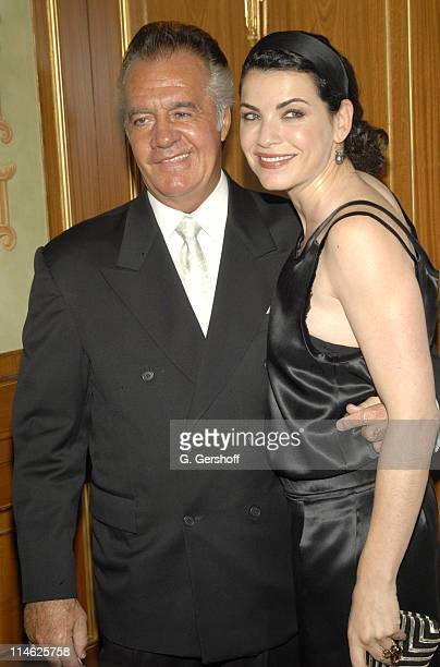 Tony Sirico and Julianna Marguiles during The Skin Cancer Foundation's Annual Skin Sense Award Gala at The Pierre Hotel in New York City New York...