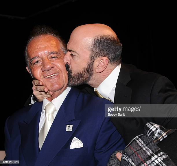 Tony Sirico and Matt Servitto attends The 7th Annual New Jersey Hall Of Fame Induction Ceremony on November 13 2014 in Asbury Park United States