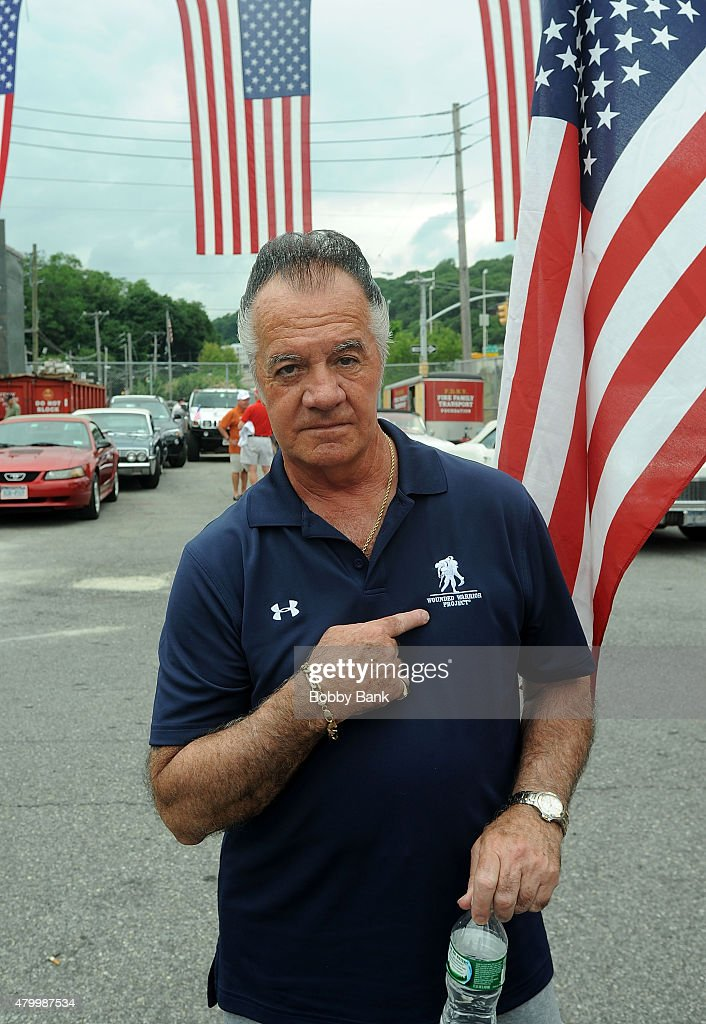 Tony Sirico attends the 2015 Wounded Warrior Adaptive Sports Program at Rescue #5 Ladder Company on July 8, 2015 in New York City.