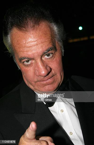 Tony Sirico during 2005 Screen Actors Guild Awards HBO Post SAG Awards Dinner at Spago Restaurant in Beverly Hills California United States