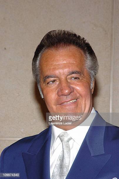 Tony Sirico during 2005/2006 AE Television Networks UpFront at Rockefeller Center in New York City New York United States