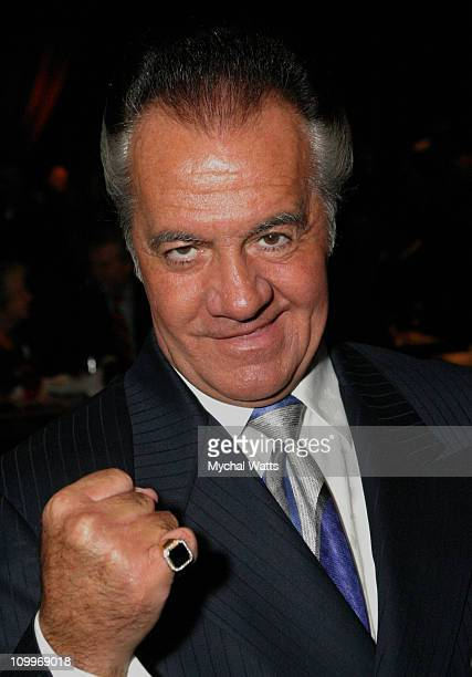 Tony Sirico during 20th Annual Artios Awards For Outstanding Achievements In Casting at Carolines Comedy Club in New York City New York United States
