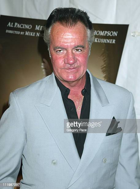 Tony Sirico during 'Angels In America' New York Premiere at The Ziegfeld Theater in New York City New York United States