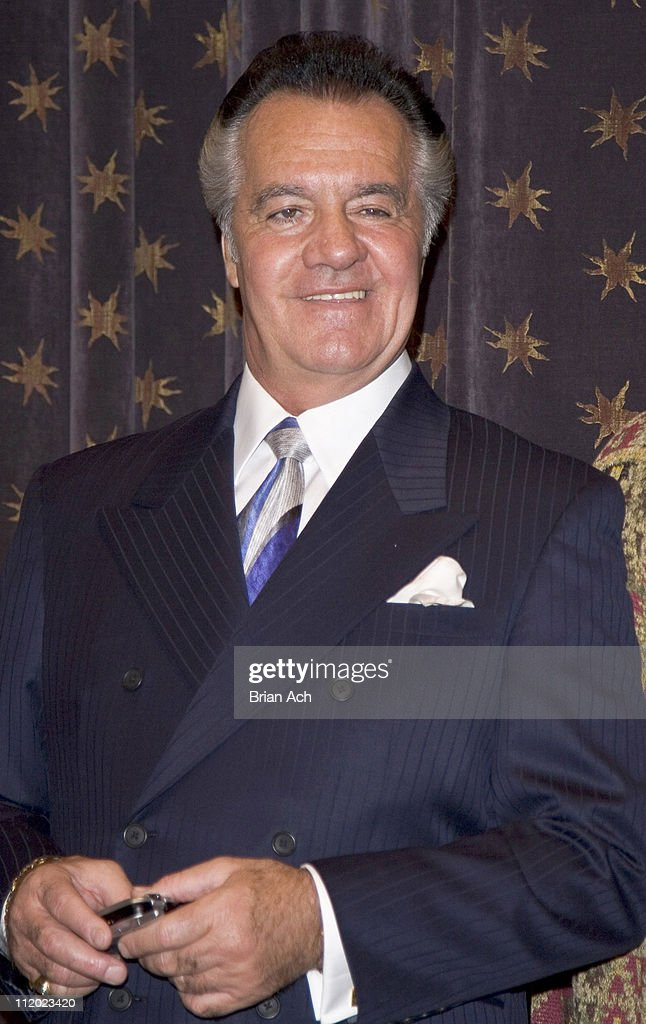 Tony Sirico during The Cast of 'The Sopranos' Introduces Cingular HBO Mobile at 1100 6th ave in New York, New York, United States.