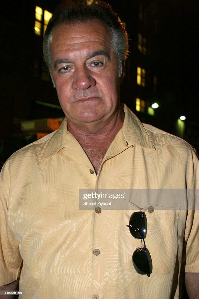 Tony Sirico during The Cast of 'The Sopranos' Sighting at GLO in New York City - August 7, 2005 at GLO in New York City, New York, United States.