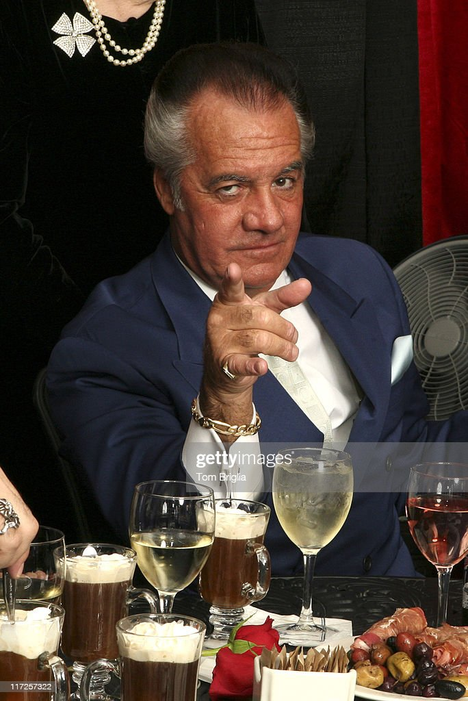 Tony Sirico during The Sopranos Cast Press Conference and Photocall at Atlantic City Hilton - March 25, 2006 at Atlantic City Hilton in Atlantic City, New Jersey, United States.