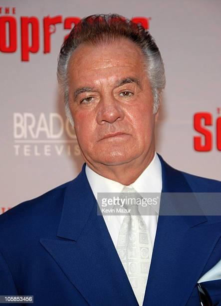 Tony Sirico during The Sopranos Final Season World Premiere Red Carpet at Radio City Music Hall in New York City New York United States