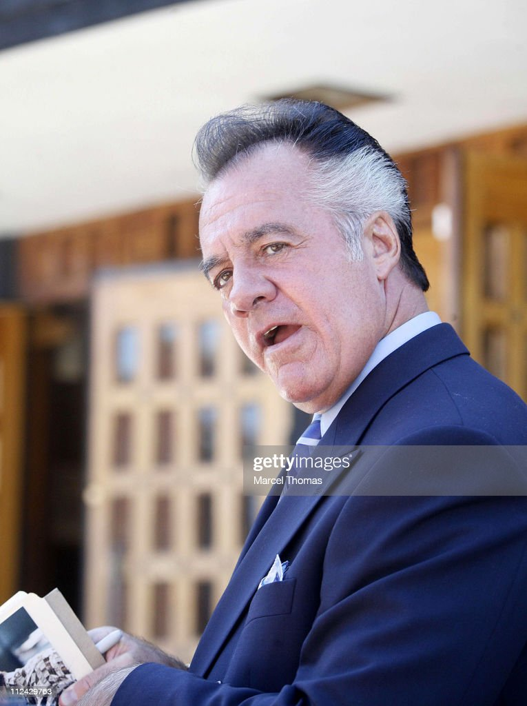Tony Sirico during 'The Sopranos' On Location in New York City - August 21, 2006 at St Rita's Church in New York City, Queens, United States.
