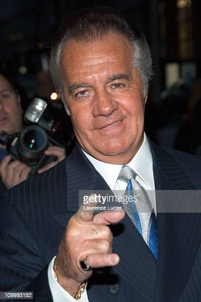 Tony Sirico during The Sopranos Sixth Season New York City Premiere Outside Arrivals at Museum of Modern Art in New York City New York United States