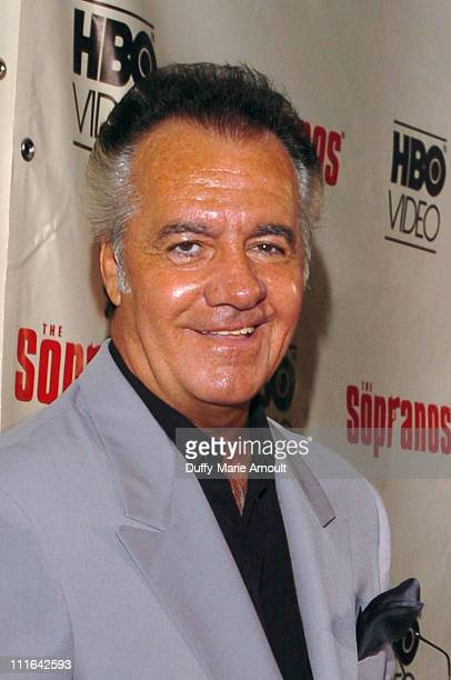 Tony Sirico during The Sopranos The Complete 5th Season DVD Release Party Hosted by HBO Video at English is Italian in New York City New York United...