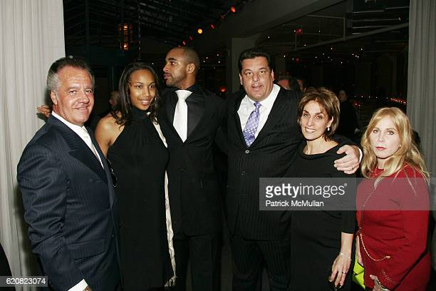 Tony Sirico Leilah Tyree David Tyree Steve Schirripa Joyce Mattera and Liz Derringer attend CHILDREN OF THE CITY GALA Honoring DAVID TYREE and Hosted...