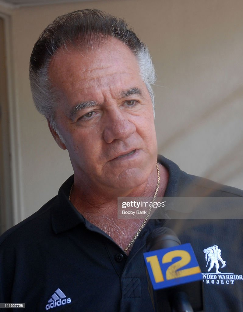 Tony Sirico of the Sopranos attends the Wounded Warrior Soldiers Project luncheon at Harold's Deli on July 10, 2008 in Edison, New Jersey.