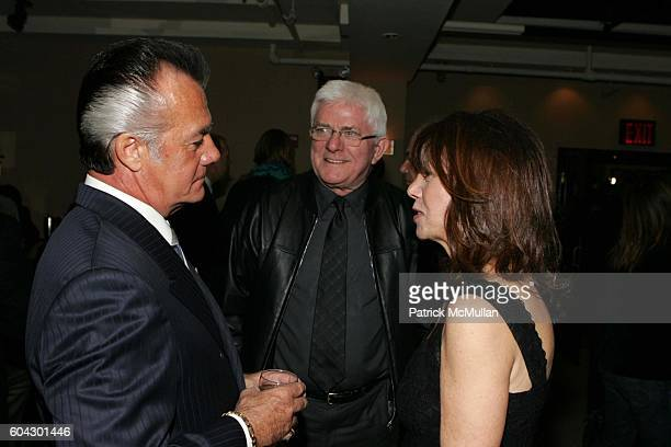 Tony Sirico Phil Donahue and Marlo Thomas attend The Reader's Digest Annual Stand Up for the Children In Support of St Jude Children's Research...