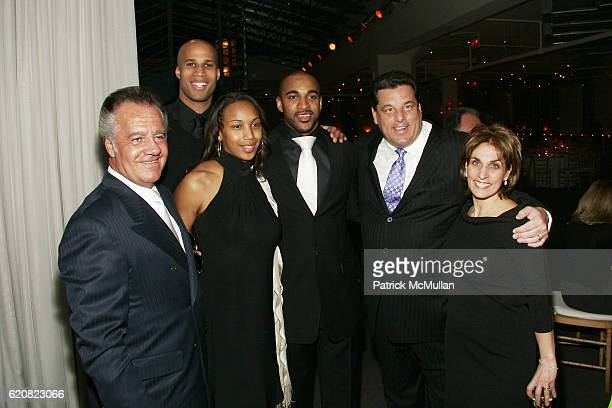 Tony Sirico Richard Jefferson Leilah Tyree David Tyree Steve Schirripa and Joyce Mattera attend CHILDREN OF THE CITY GALA Honoring DAVID TYREE and...