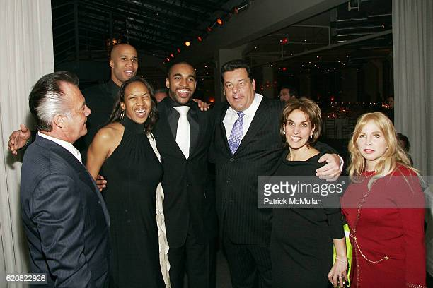 Tony Sirico Richard Jefferson Leilah Tyree David Tyree Steve Schirripa Joyce Mattera and Liz Derringer attend CHILDREN OF THE CITY GALA Honoring...