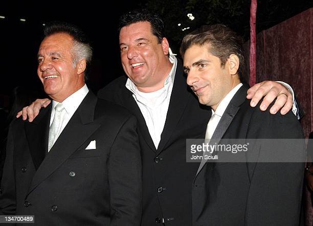 Tony Sirico Steve Schirripa and Michael Imperioli
