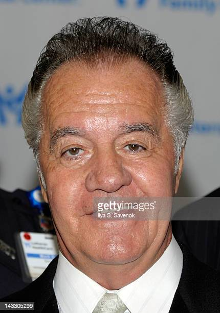 Tony Sirico visits Lutheran Medical Center on April 23 2012 in the Brooklyn borough of New York City