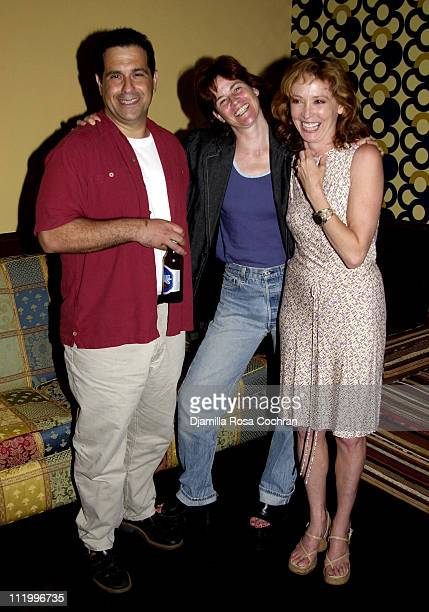 Tony Spiridakis Ally Sheedy and Wendy Makkena during Party for the Movie 'Noise' at Plaid in New York City at Plaid in New York City New York United...
