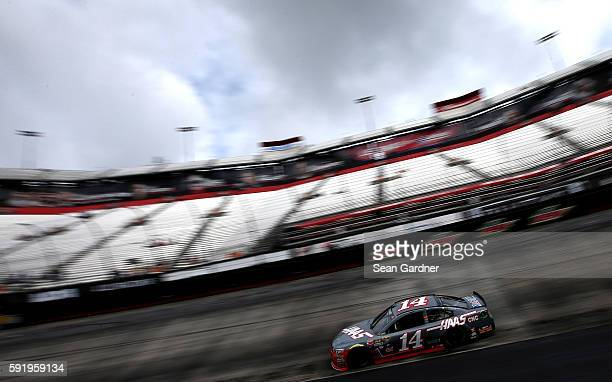 Tony Stewart driver of the Haas Automation Chevrolet practices for the  NASCAR Sprint Cup Series Bass 85756cf09500
