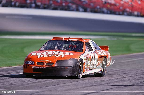Tony Stewart drives his car during the Daytona 500 at the Daytona International Speedway on February 16 2001 in Daytona Beach Florida