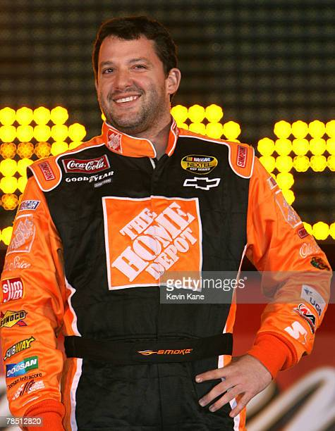 Tony Stewart prior to the Bud Shootout at Daytona International SpeedwayDaytona Beach Florida February 10 2007