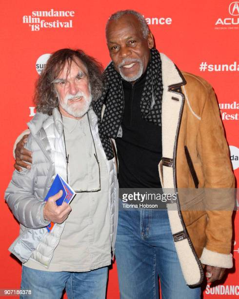 Tony Tabatznik founder of the Bertha Foundation and Executive Producer Danny Glover attend the 'Hale County This Morning This Evening' Premiere...