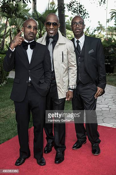 Tony Toni Tone attends the 26th Annual Heroes and Legends Awards at Beverly Hills Hotel on September 27 2015 in Beverly Hills California