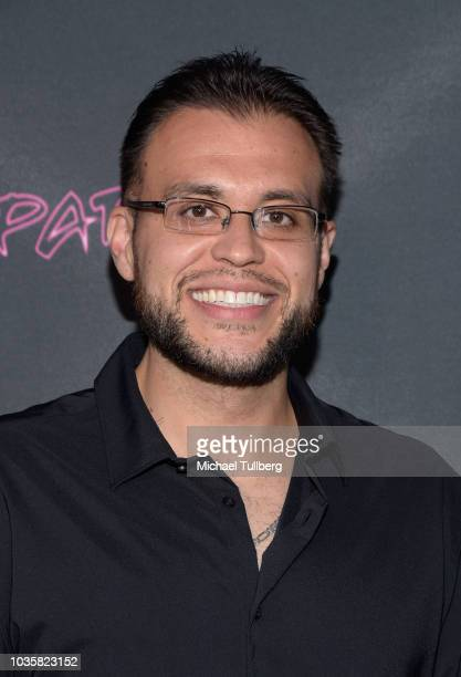 Tony Villalobos attends the premiere party for LookHu's Slasher Party at ArcLight Hollywood on September 18 2018 in Hollywood California