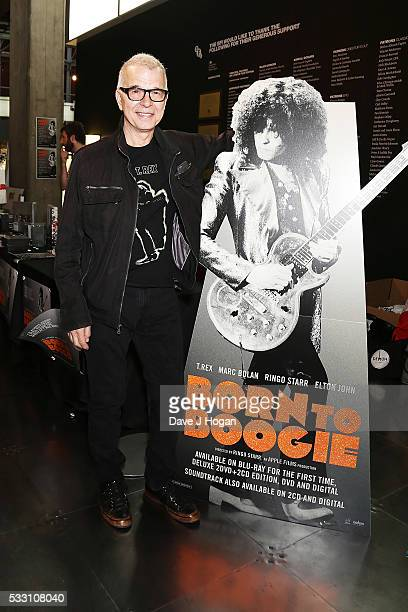 Tony Visconti attends a special screening of the motion picture 'Born to Boogie' to celebrate the films release on bluray at BFI Southbank on May 20...