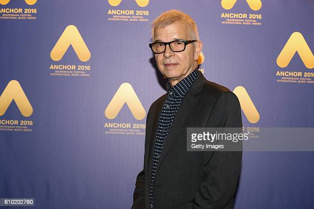 Tony Visconti attends the ANCHOR Award 2016 at St Pauli Theater on September 24 2016 in Hamburg Germany
