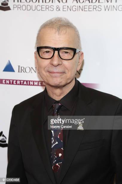 Tony Visconti attends the Recording Academy Producers and Engineers Wing presents 11th Annual Grammy Week event honoring Alicia Keys and Swizz Beatz...