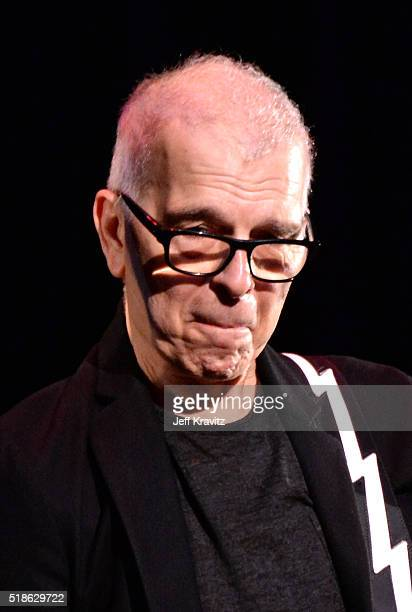 Tony Visconti of Holy Holy performs onstage at Michael Dorf Presents The Music of David Bowie at Radio City Music Hall on April 1 2016 in New York...
