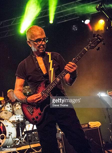 Tony Visconti performs at O2 Academy Birmingham on June 29 2015 in Birmingham United Kingdom