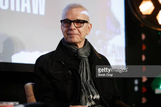 Tony Visconti speaks on day 2 of BBC Radio 6 Music Festival on March 07, 2020 in London, England.