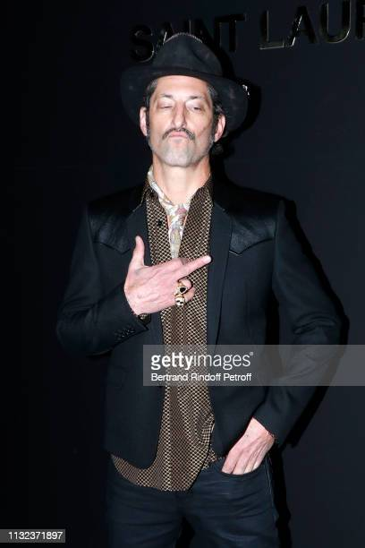 Tony Ward attends the Saint Laurent show as part of the Paris Fashion Week Womenswear Fall/Winter 2019/2020 on February 26, 2019 in Paris, France.