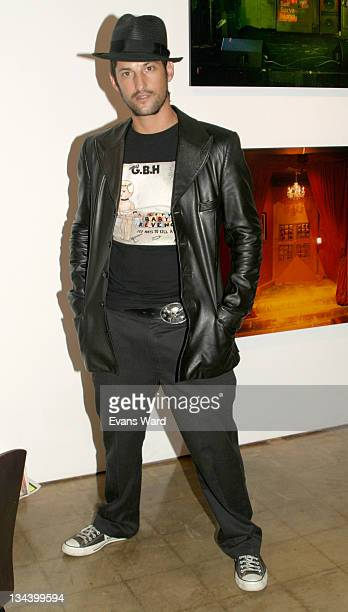 Tony Ward during Screenings In Association With The Exhibit 'The Leopard Spots Between Art Performance And Club Culture' at 18th Street Art Center in...