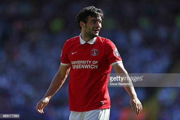 Tony Watt of Charlton Athletic during the Sky Bet Championship match between Charlton Athletic v Queens Park Rangers at The Valley on August 8 2015...