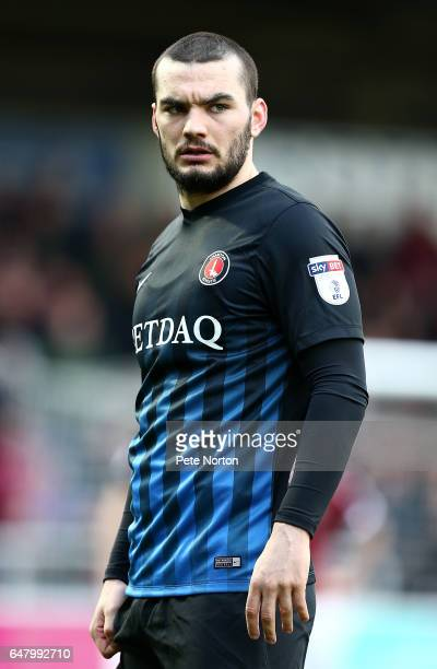 Tony Watt of Charlton Athletic in action during the Sky Bet League One match between Northampton Town and Charlton Athletic at Sixfields on March 4...