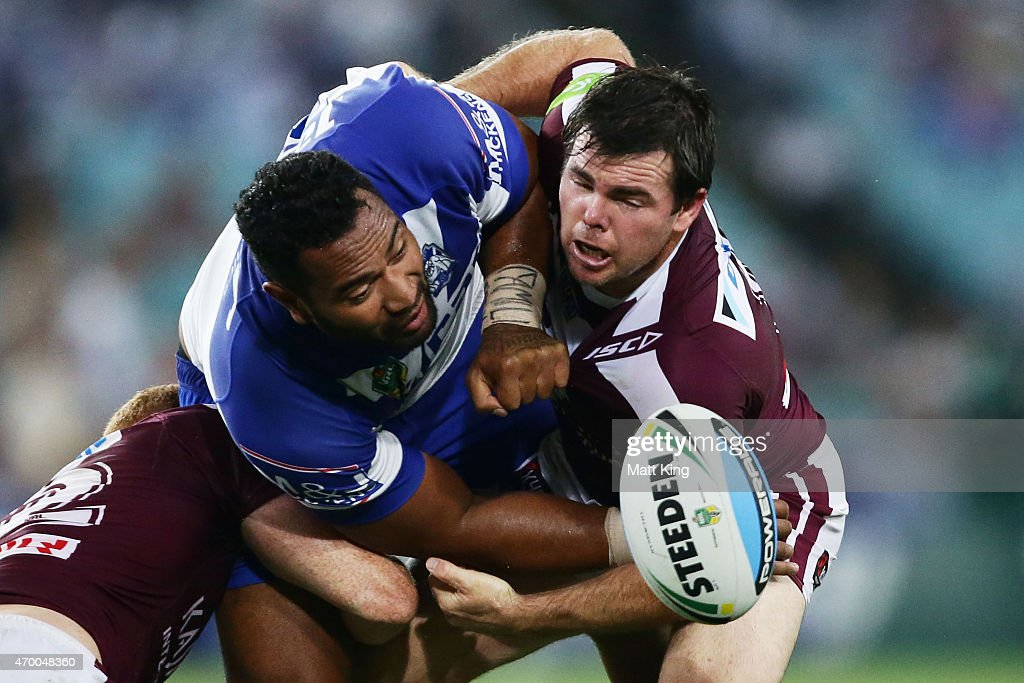 NRL Rd 7 - Bulldogs v Sea Eagles